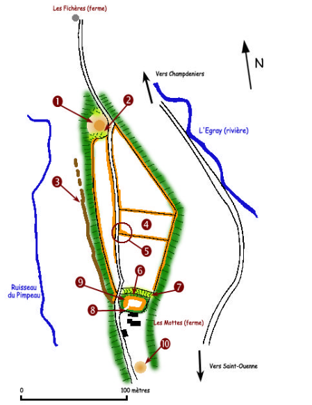 Plan site des mothes